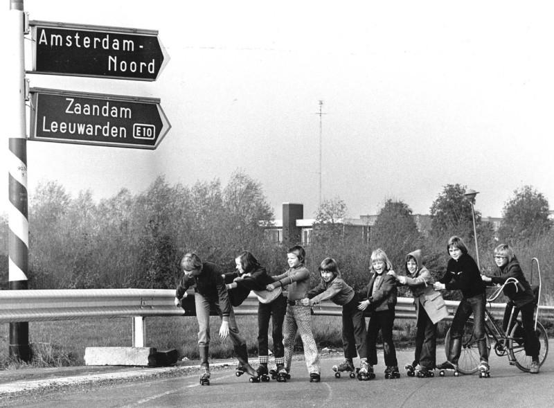 autoloze zondag 4 nov '73, ANP