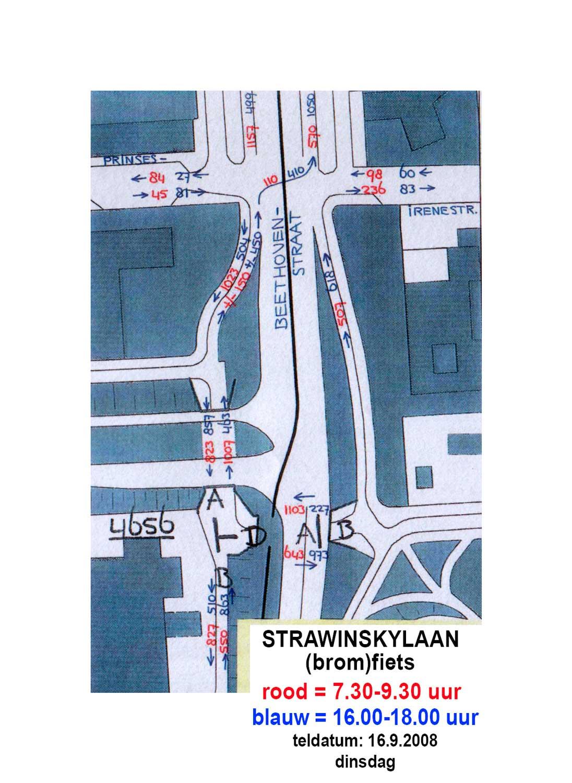 kruising Beethovenstraat-Prinses Irenestraat