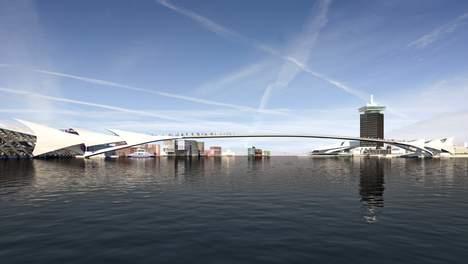 Voorbeeld brug over het IJ © CIIID