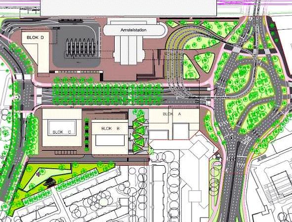 Zo moet het worden: veel ruimte voor de tram, geen ruimte voor de fiets