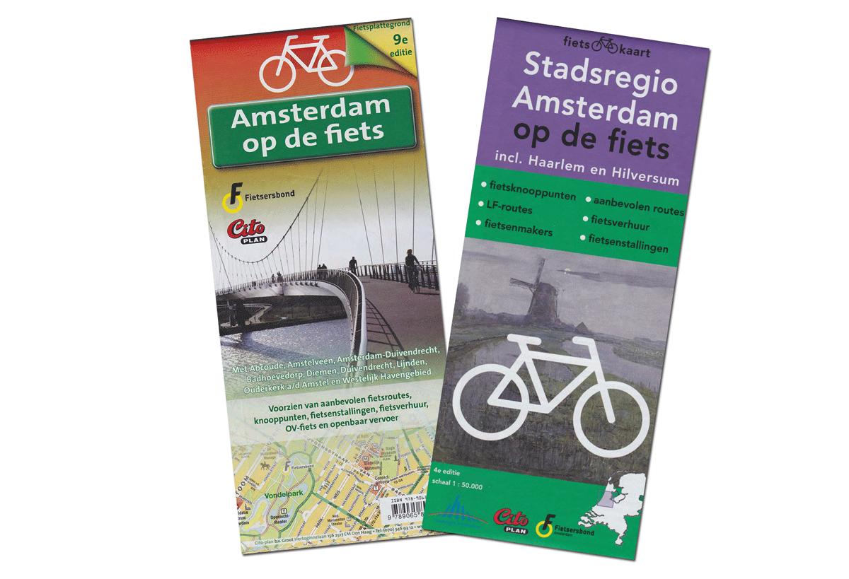 De nieuwe fietskaarten